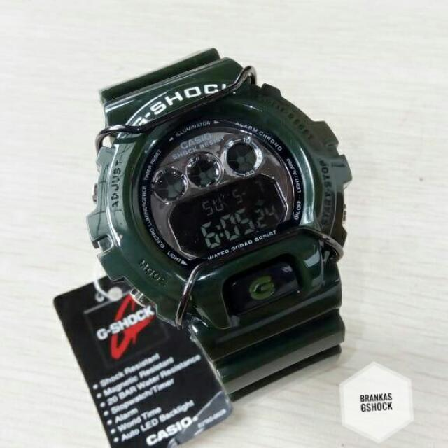 Jam Tangan Pria / Casio Gshock Dw-6900 Green