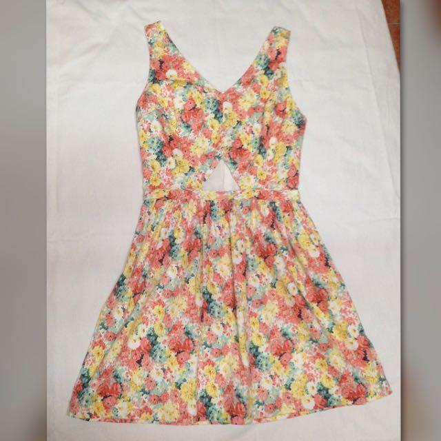 Just g Floral Summer Dress