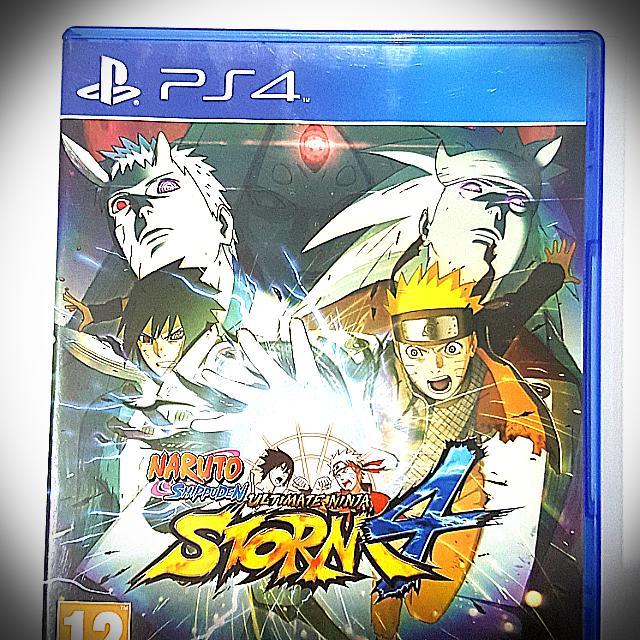 Kaset Original Ps 4 Naruto Shippuden Ultumate Ninja Storm 4