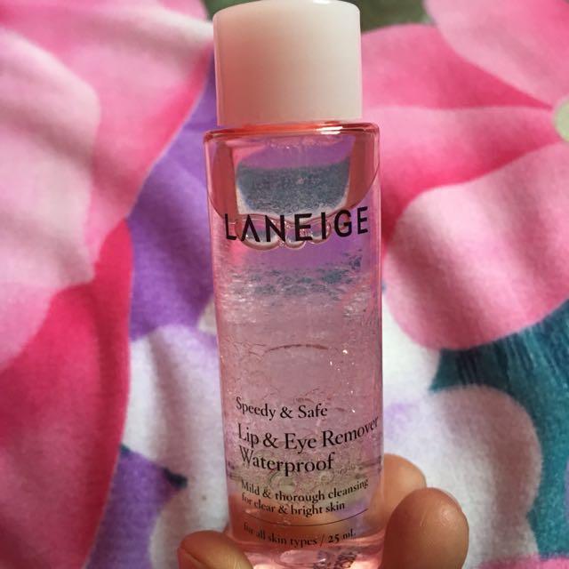 Laneige Make Up remover