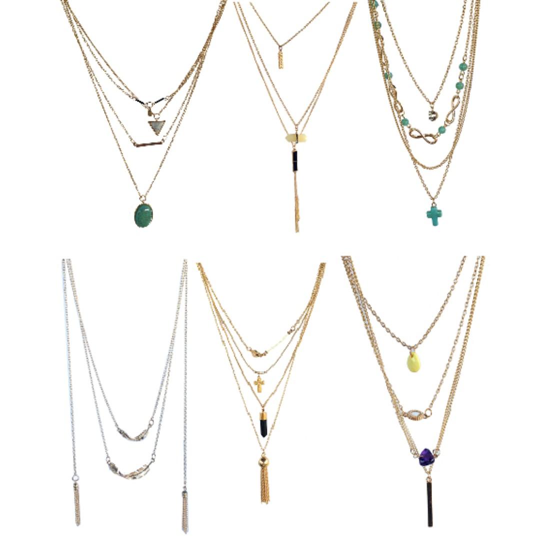 Layered Necklace batch 1