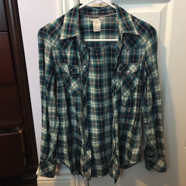 Levi's Plaid Shirt