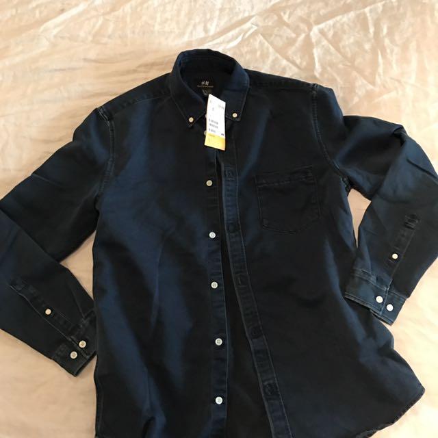 M Denim Shirt NWT