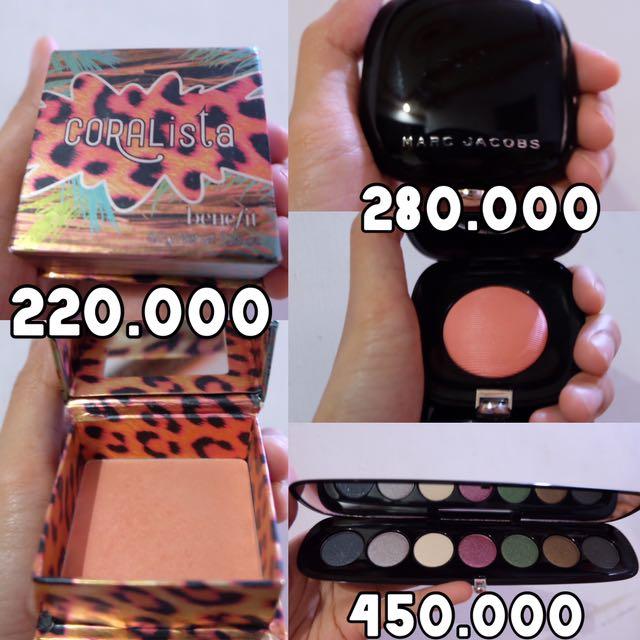 Marc Jacobs Blush, Benefit Blush, Marc Jacobs Eyeshadow Palette Sale!!