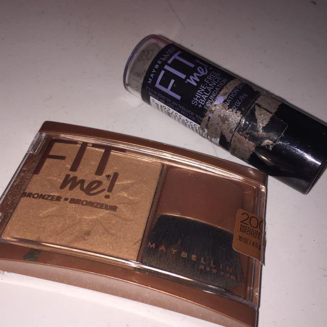 Maybelline FITME Bronzer/Foundation stick