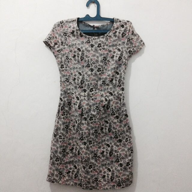 Mini Dress Bunga bunga