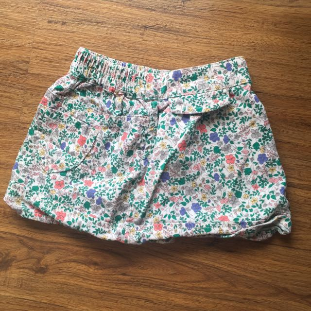 Mothercare Floral Skirt