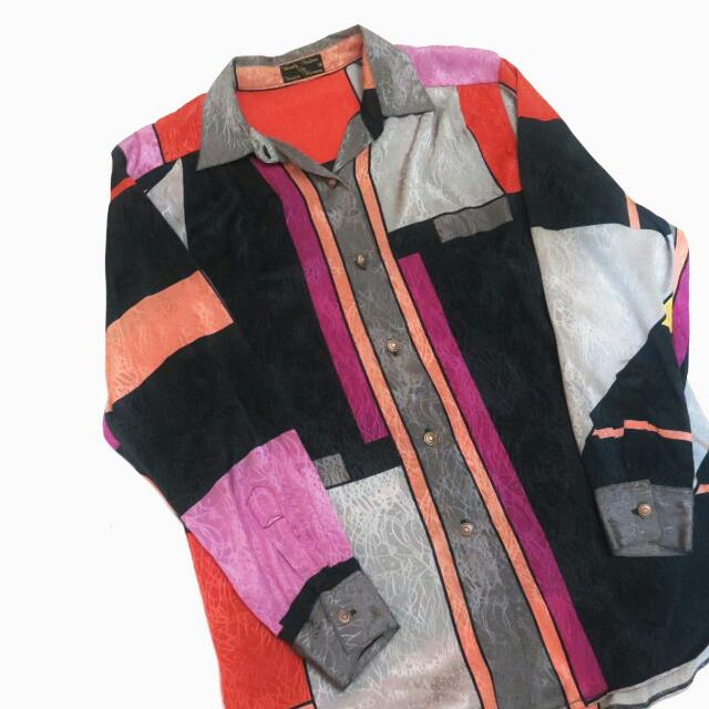Mozaic Pattern Shirt