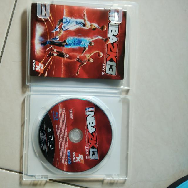 NBA2k13 Ps3 Original game