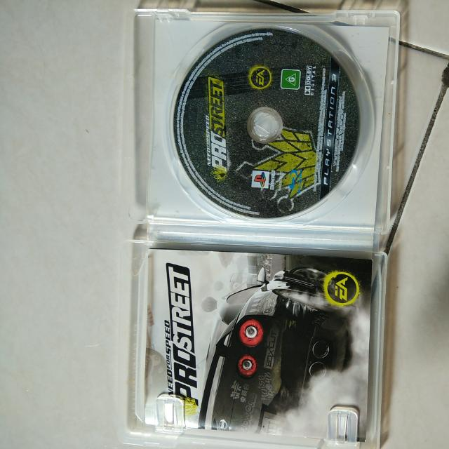 Need For Speed PRO Street Ps3 Original Game