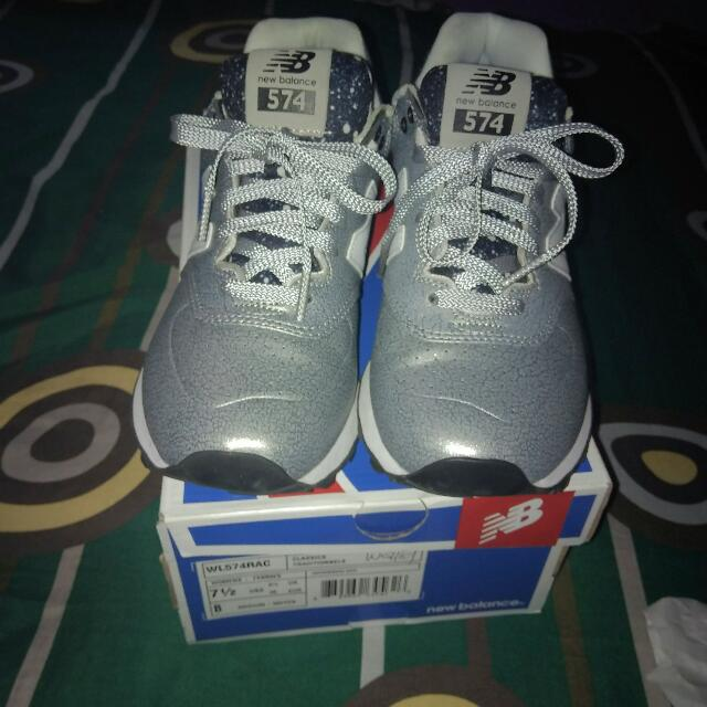 new balance 574 silver original item