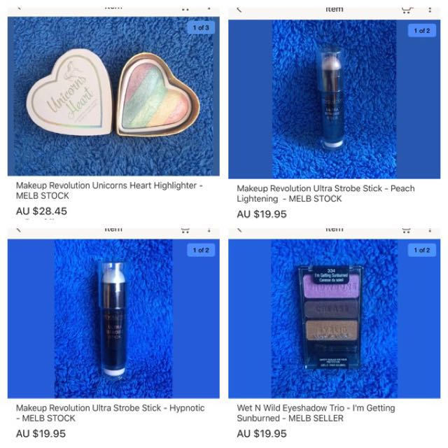 New Makeup Revolution And Wet N Wild Makeup In Stock Now