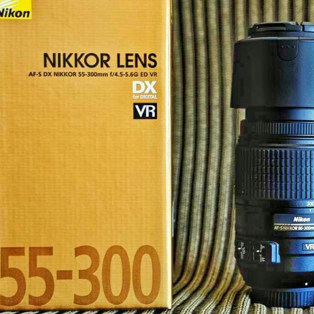 NIKON LENS 55-300mm DX AF-S