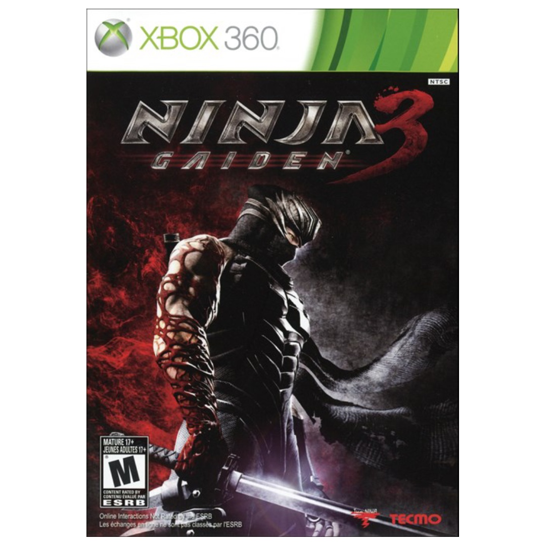 Ninja Gaiden 3 Xbox 360 Toys Games Video Gaming Video Games
