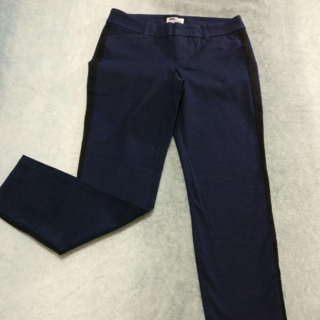 Old Navy, Navy Pants w/Black trim