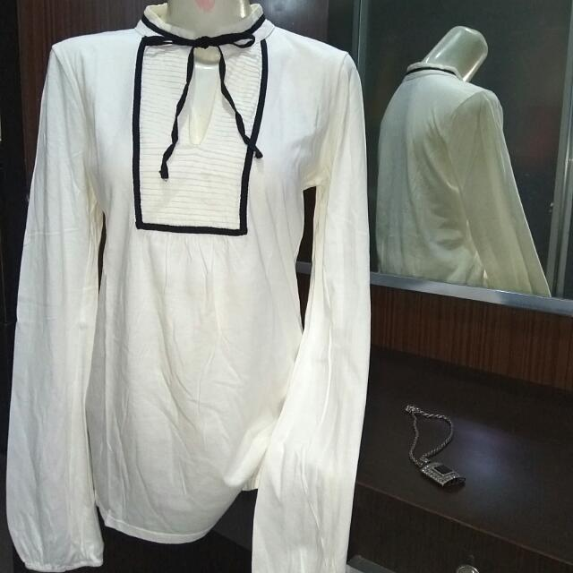 Original Zara Top White