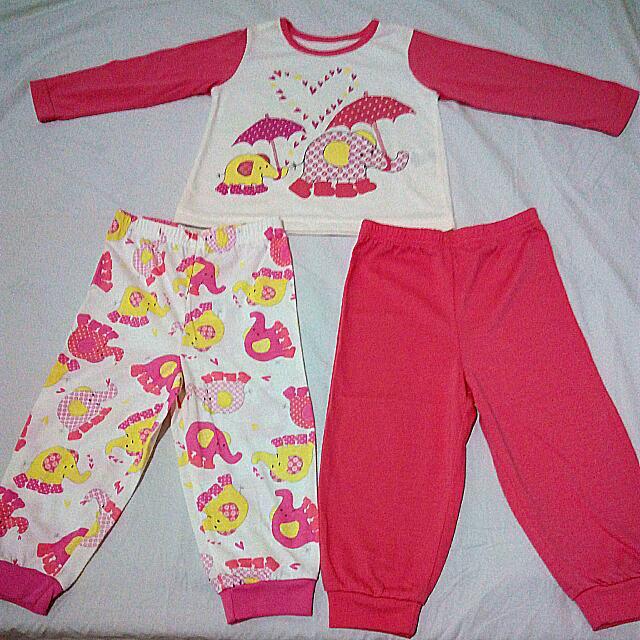 Pajama Set +Extra Pants