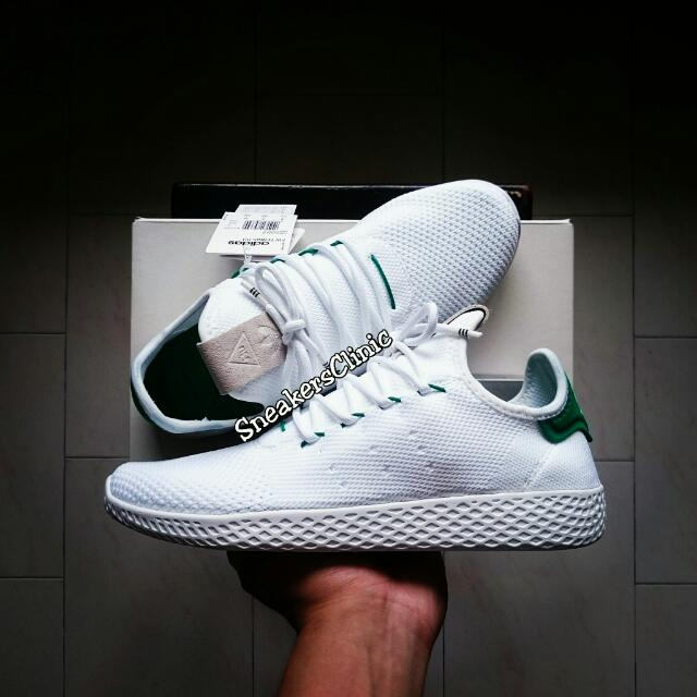 3dd5a2e79f9c1 Pharrell Williams x Adidas Tennis Hu Primeknit