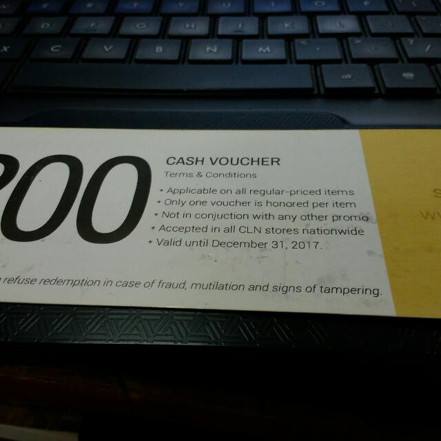 FREE PHP 200 Voucher From Cln!!!!