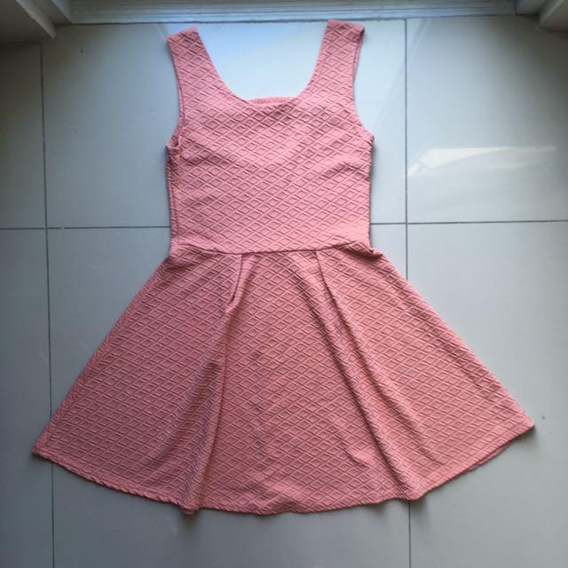 Pink Skater Dress