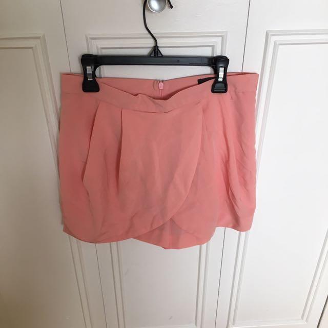 Pink Skort Size 6 (U.K. Size 8)