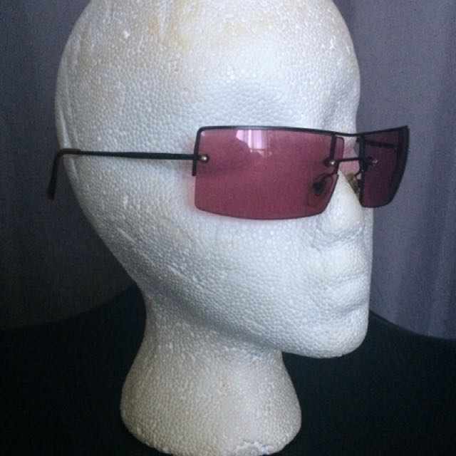 Pink Tinted Glasses