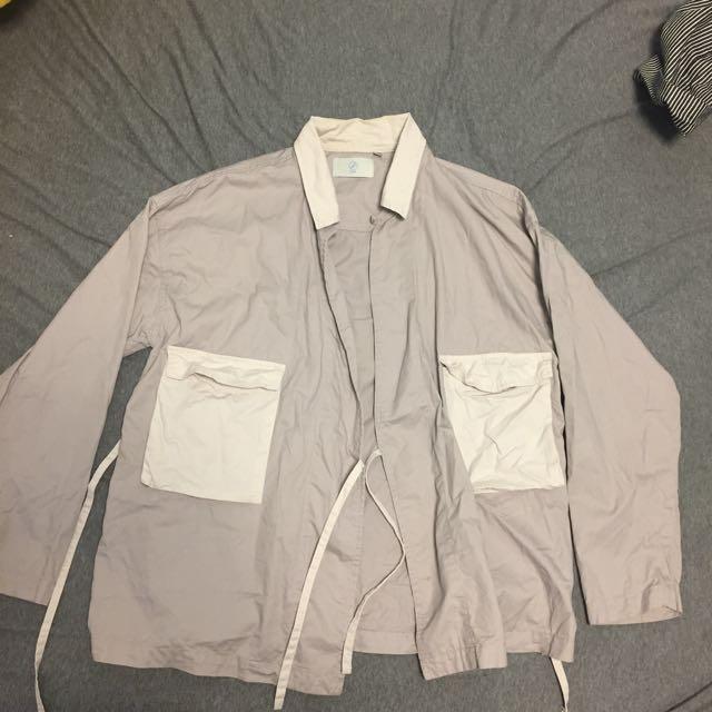 Plainme日式襯衫外套