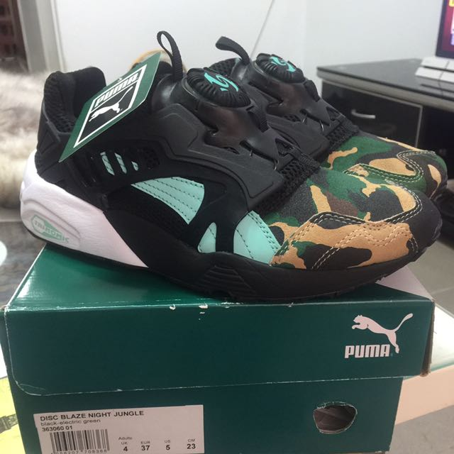 PUMA DISC BLAZE NIGHT JUNGLE ATMOS 綠迷彩 5 23