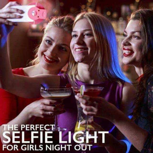 Rechargeable Portable Selfie Ring Light