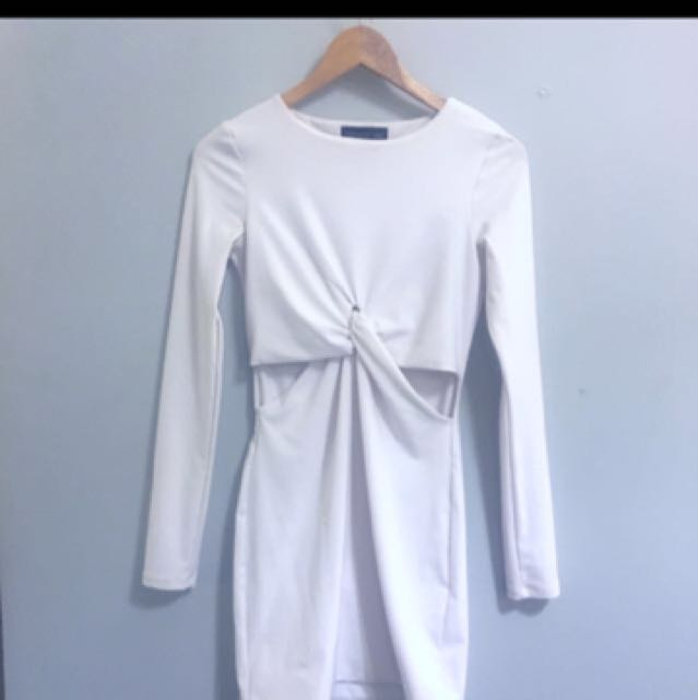 Reduced Topshop White Dress