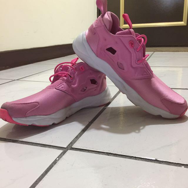 Reebok Pump Fury Lite❤️粉紅 #二手品牌好鞋#含運最划算