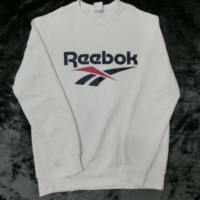 Reebok 大學T 大LOGO 經典