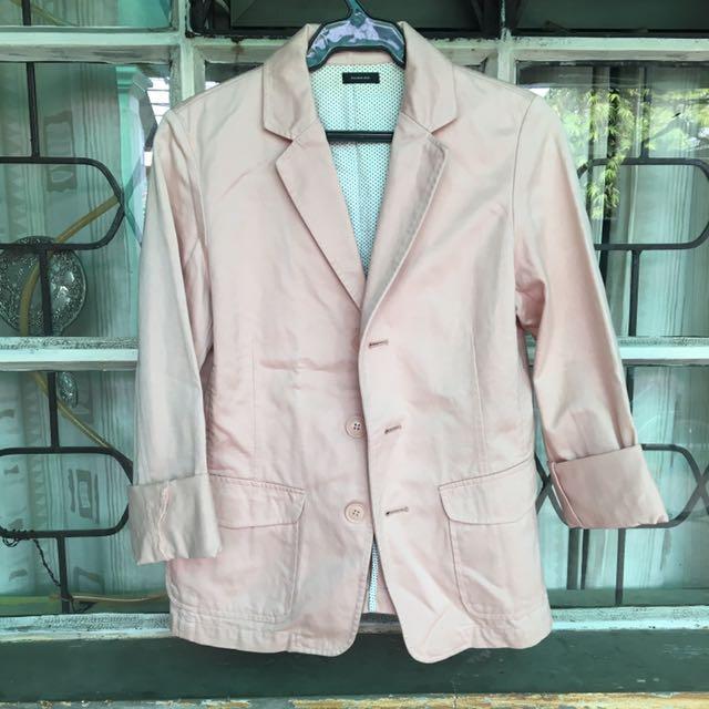 Rosy Pink Blazer 🎀