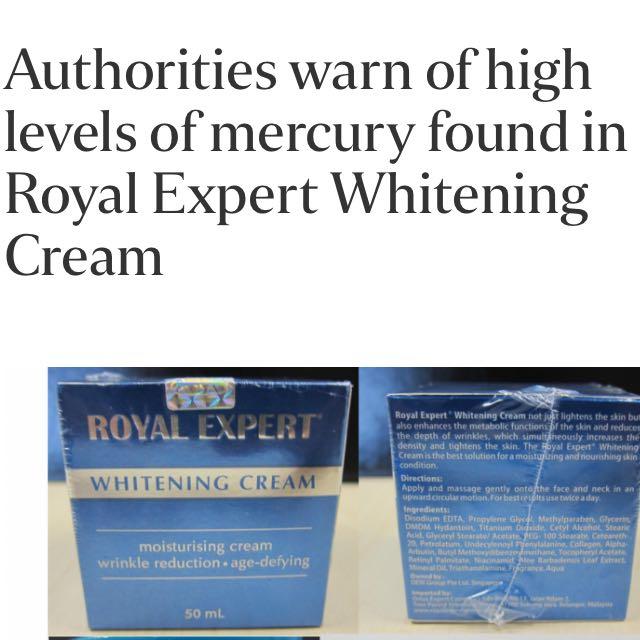 Royal Expert Whitening Cream Ban