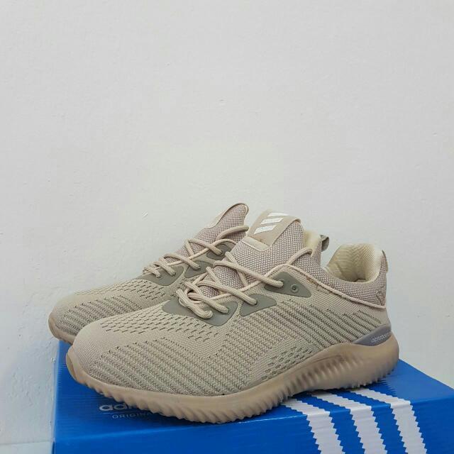 cf9755923 SALE! Adidas Alphabounce New Nude Brown