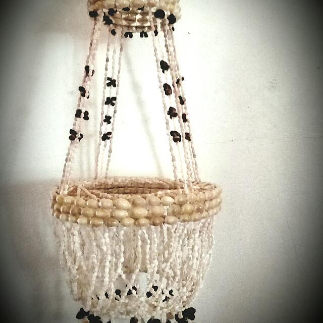 Seashell chandelier design craft handmade goods accessories on photo photo photo photo photo aloadofball Image collections