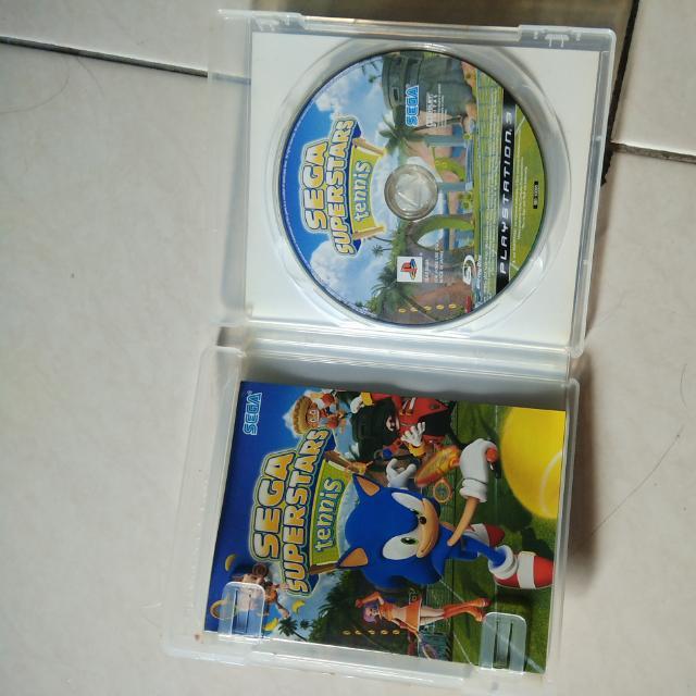 Sega Superstars Tennis Ps3 Original Games