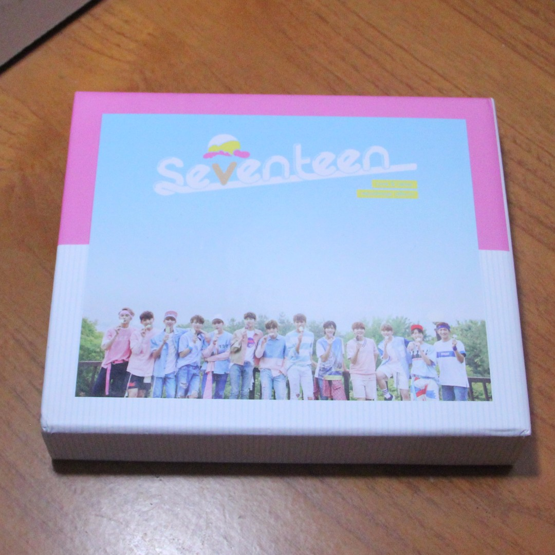 SEVENTEEN Vol.1: Love Letter (Repackage) (Normal Edition)