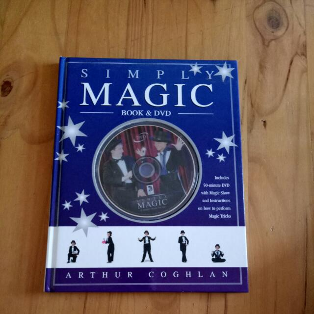 Simply Magic Book And DVD