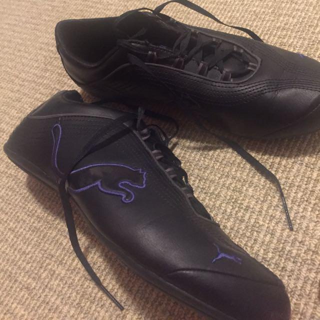Size 41 PUMA Black Sneakers