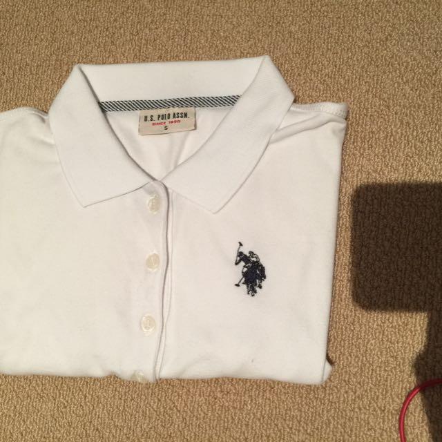 Size Small Polo White