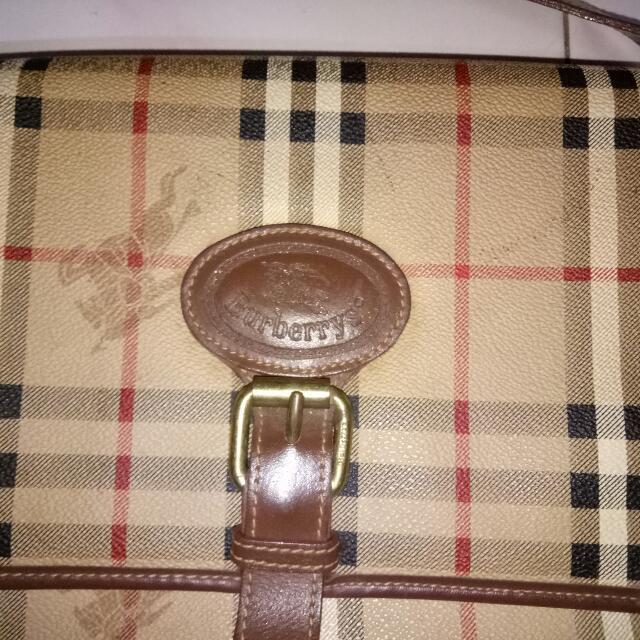886fb3c592d5 Sling Bag Burberry Vintage