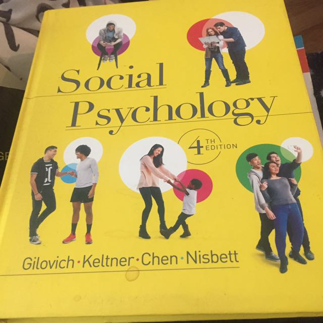 Social Psychology 4th Ed