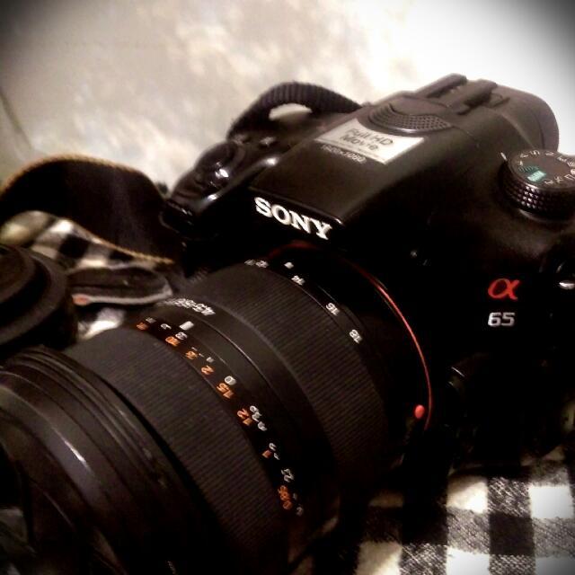 Sony a65 中階 單眼相機