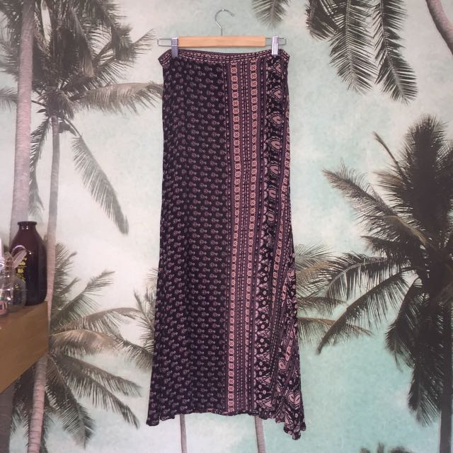 Spell Maxi Skirt