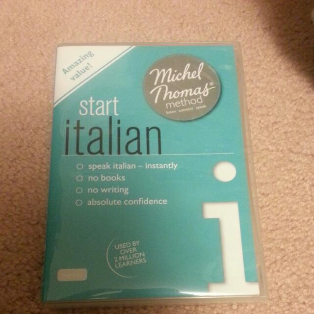 Start Italian Michel Thomas Method