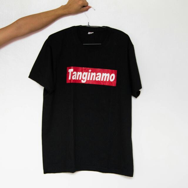 Tanginamo Black Tee