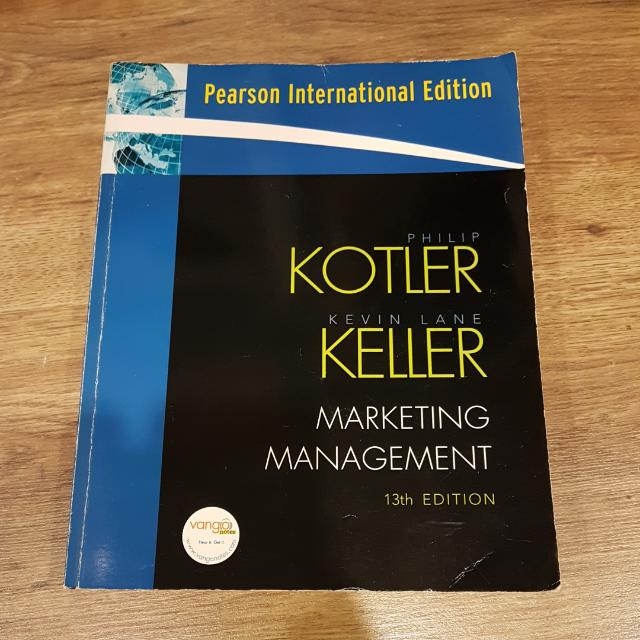 Textbook Marketing Management 13th Ed By Philip Kotler Kevin