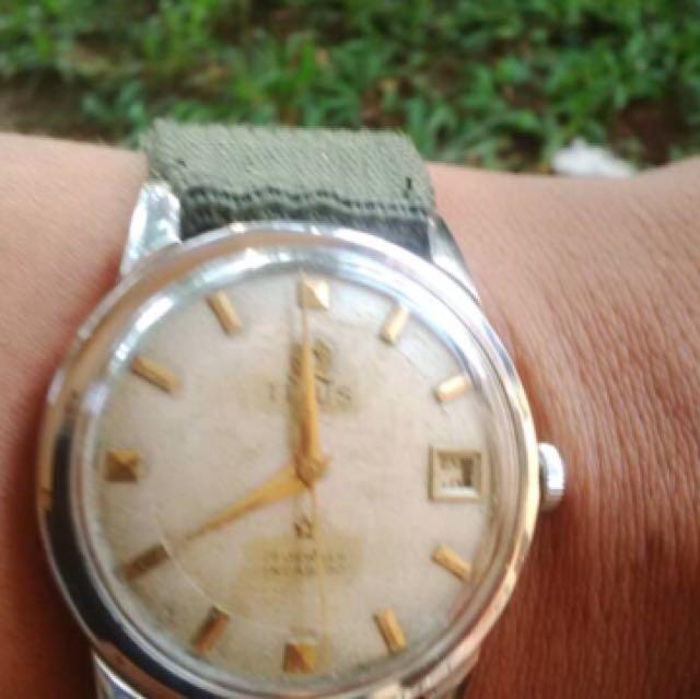 titus watch authentic