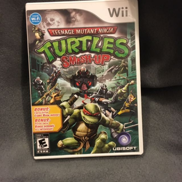 TMNT Turtles Smash-Up Wii